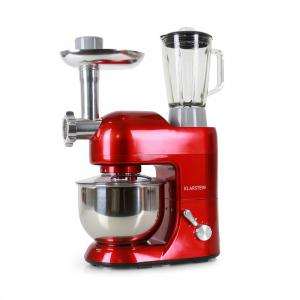 Lucia Rossa Stand Mixer Meat Mincer Mixer 1200W - Red Red