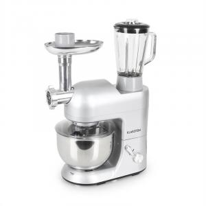 Lucia Argentea Stand Mixer Meat Mincer Mixer 1200W - Silver Grey