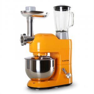 Lucia Orangina Stand Mixer Meat Mincer 1200W 5L Orange
