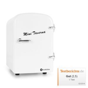 Mini Taverna Portable Cooler 4L Cool Box - White White