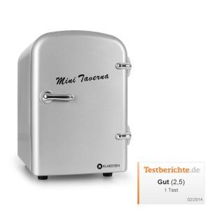 Mini Taverna Portable Cooler 4L Cool Box - Silver Silver