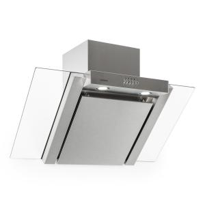 RGL90WS Extractor Cooker Hood 90cm extra flat stainless steel Transparent