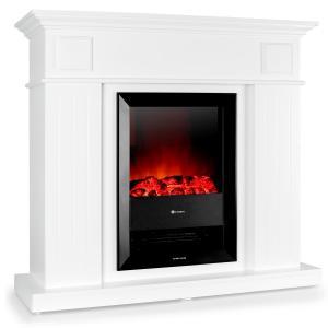 Chamonix Electric Fireplace fan-heater 2000W white wood