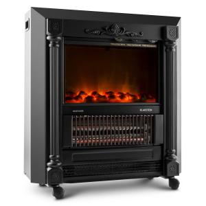 Grenoble Electric Fireplace Heater 1850W Black