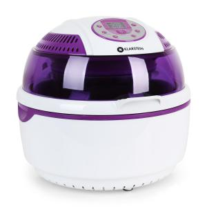 VitAir Hot Air Fryer Grilling and baking 1400W Purple White Purple