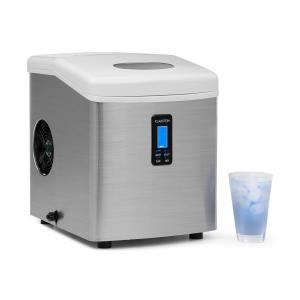 Mr. Silver Frost Ice Maker 150W Stainless Steel White