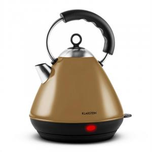 Charlotte Cordless Electric Water Kettle 2L 2200W Brown Brown