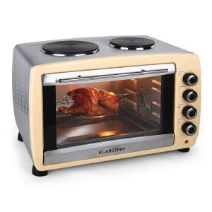 Omnichef 45HC Oven 2 Hot Plates 2000W 45L Cream Creme