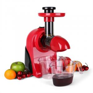 Fruitpresso Rosso Slow Juicer 150W 80 Rpm Red Red