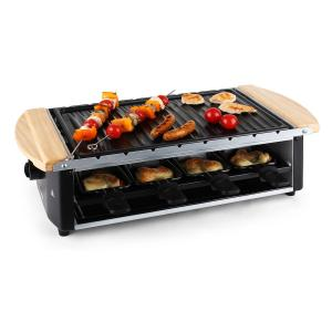 Chateaubriand Electric Raclette Grill Ribbed Plate 8 Person 1200W