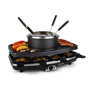 Entrecote-Fondle Raclette Grill Stone Fondue 1100W 8 ppl