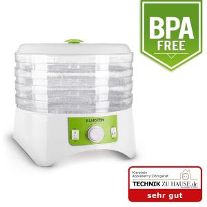 Appleberry Food Dehydrator White / Green BPA Free 400W White