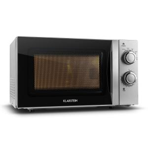 myWave Microwave Oven 20L 700W Timer Silver Silver