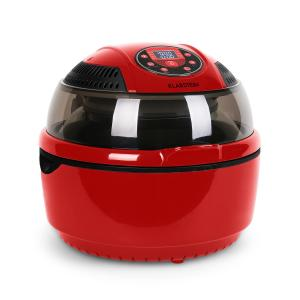 VitAir Hot Air Fryer grill and bake 9 litre Red Red