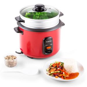 Osaka 1.5 Premium Rice Cooker with Steamer Attachment 1.5 Litres