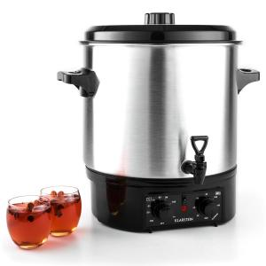 Biggie Catering Urn 27 L Water Boiler Slow Cooker with Timer 1800W