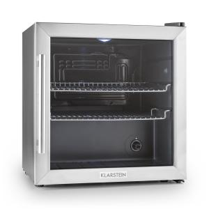 Beersafe L Fridge Refrigerator 50L Class B Glass Door Stainless Steel Silver  