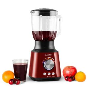 Herakles Jug Mixer 1000W 1.3 HP 1.5 Liter Smoothie Stainless Steel Red