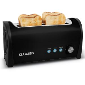 Cambridge Double Long Slot Toaster 1400W Black