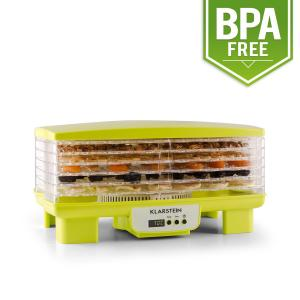 Bananarama Fruit Dryer Green 550W Dryer Dehydrator 6 Levels Green