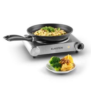 Captain Cook Hotplate Hob Ceramic Infrared 1200W Stainless Steel Silver Silver