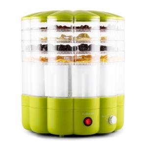 YoFruit Fruit Dryer 5 Tier with Yoghurt Maker Combo Green Green