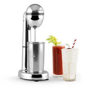 van Damme Drink Mixer Shaker 100W 450ml Stainless Steel Cocktail Shaker Silver Silver