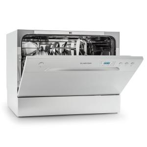 Amazonia 6 Table Dishwasher A+ 1380W 6 Place Settings 49 dB Silver Silver