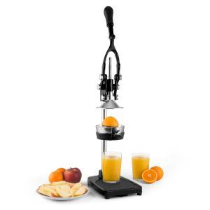 TriJuicer Lever Action Juicer Chip Cutter Fruit Slicer Black Black