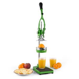 TriJuicer Lever Action Juicer Chip Cutter Fruit Slicer Green Green