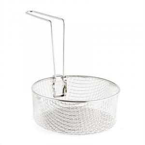 Frying Basket for Deep Fryers & Multi Cooker 1.5L 17x6.5 cm Handle Steel