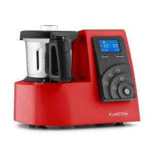 Kitchen Hero 9-in-1 Food Processor Machine Thermo Red Red