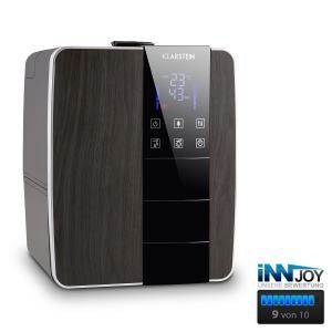 Montreal L Humidifier 350 ml/hr 40m² 6L Water Heating Ionizer Black