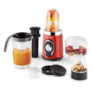 Fruizooka Mixer Smoothie Maker 4-in-1 Multifunctional Device 220W Red Red