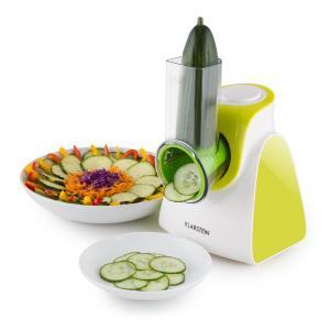 Carrot & Rock Salad Cutter Slicer Grater 150W 5 Attachments Green Green