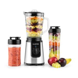 Shiva Stand Mixer Blender Mini Smoothie Maker 0.8L 350W BPA-Free Black Black