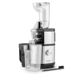 Fruitberry Slow Juicer 400W 60 RPM Filler Tube Ø8.5 cm Stainless Steel Silver