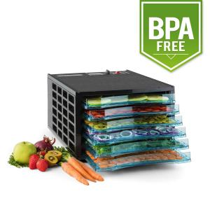 Fruit Jerky Pro 6 Automatic Food Dehydrator 630W 6 Levels BPA-Free 6 stages