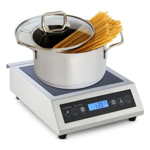 Induuk Induction Hotplate Ø 22 cm 500-3500 W Catering Stainless Steel