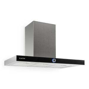 Mathea Cooker Hood Stainless Steel 90 cm Wall Mounted 541 m³ / h Glass LED
