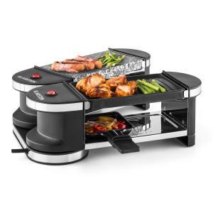 Tenderloin Mini Raclette 600W 360 ° Base Grill Plate Hot Stone