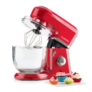 Allegra Rossa Stand Mixer 800 W 4.2 L Glass Bowl Red Red