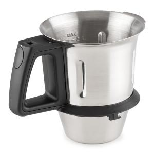 Kitchen Hero Food Processor Mixing Cup Spare Part 2l Stainless Steel