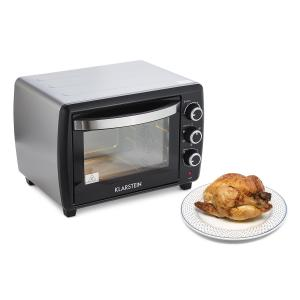 Omnichef 30 2G Mini Oven Rotisserie 1500W 30 l Black Black