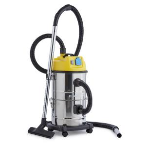 Reinraum 3-in-1 Wet / Dry Vacuum Cleaner Ash Suction 1800W 30l Stainless Steel