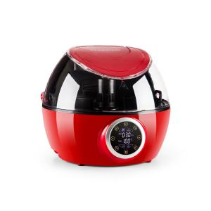 VitAir Twist hot air fryer multifunctional cooking device 1230 W red Red