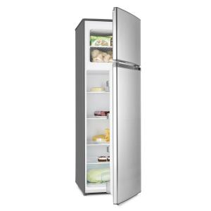 Height Cool Silver Refrigerator Freezer Combination 199/53l2-Door A++ Silver Silver |
