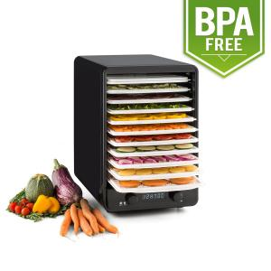 Fruitcube Dehydrator 550 W 10 Floors Dehydrator Black/Green Green
