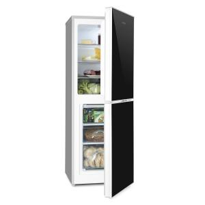 Luminance Frost Refrigeration-freezer combination 98/52 l A +++ Glass front black