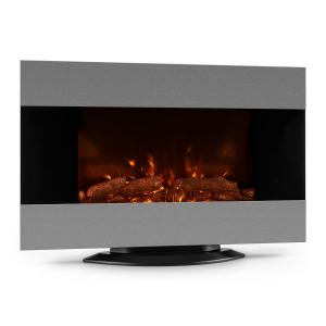Basel Electric Fireplace Heater 2000W LED Remote Control